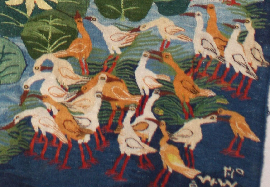 BG-04, Basima Mohamed, Birds in the Reseda, 2015