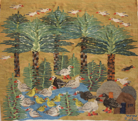 Aida Aziem, Palms and Ducks, P22
