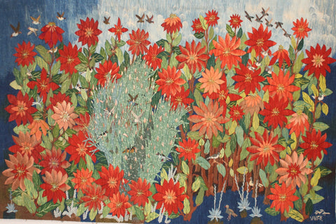 "Sayed Mahmoud, ""Poinsettias"", 2015"