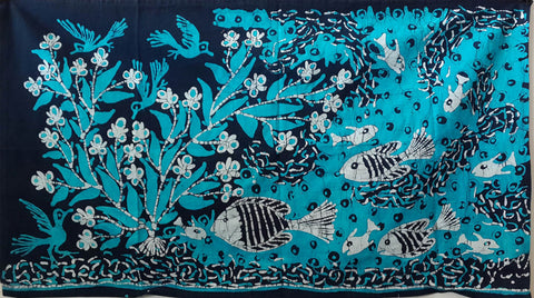 x.BDG2, Radwan Mohamed, Fish in Blue, Batik