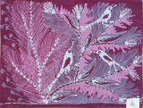x.BDG1, Saiid Ibrahim, Birds in Purple, Batik