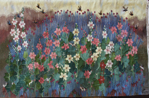 Nawara Radwan, Hollyhocks, W20