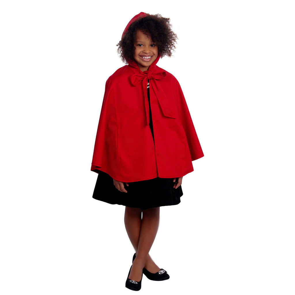 True Red Riding Hood Cape Coat | Girls - Shop Clothes For Women and Kids | Ennyluap