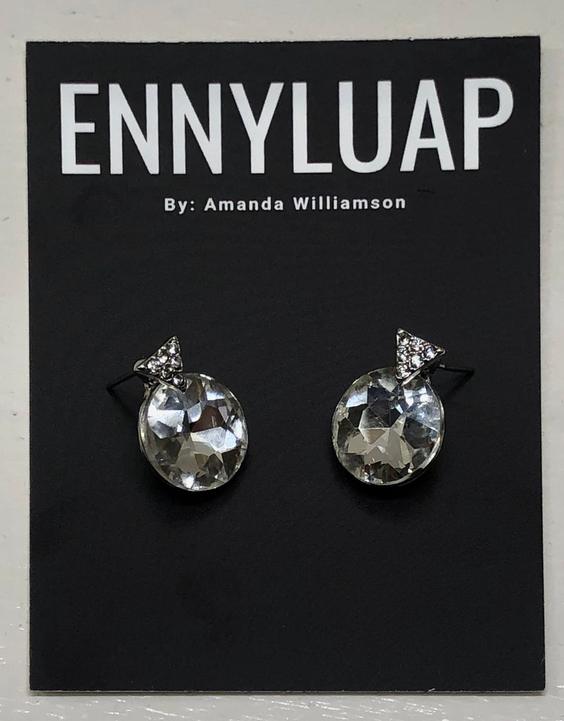 Large Glass Studs - Shop Clothes For Women and Kids | Ennyluap
