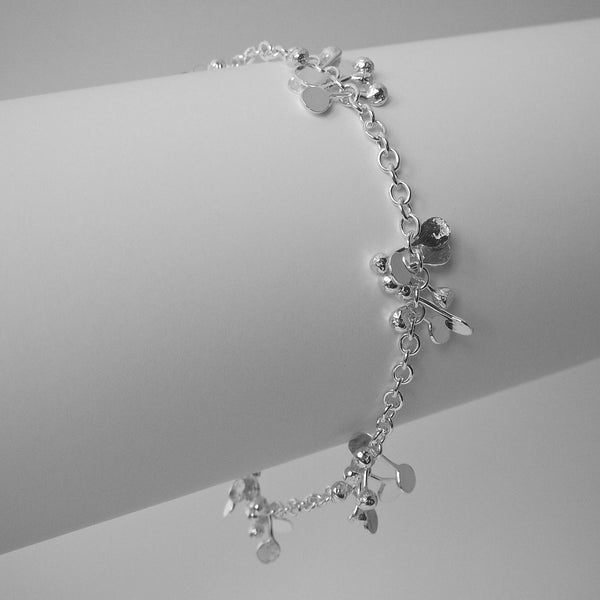 Accent Bracelet, polished silver by Fiona DeMarco