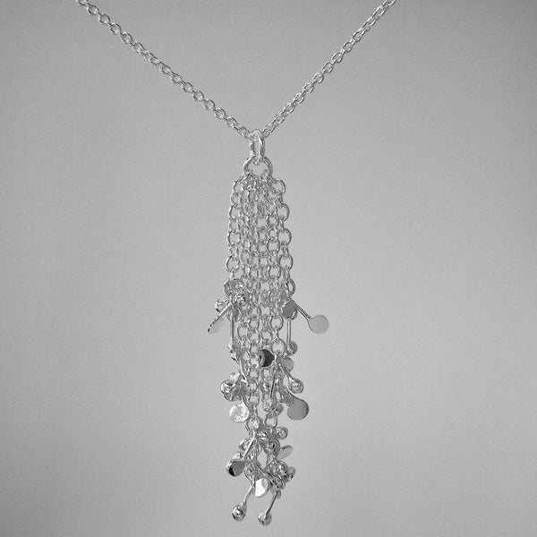Accent Pendant, polished silver by Fiona DeMarco