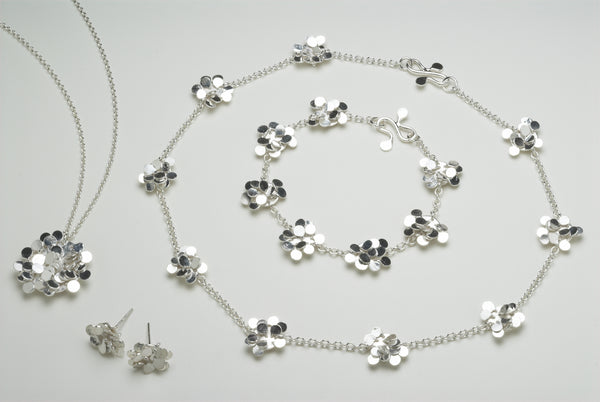 Symphony collection, satin silver by Fiona DeMarco