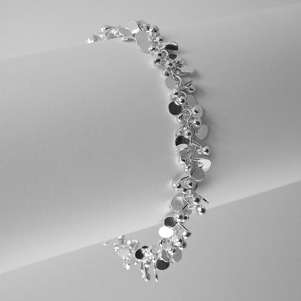 Harmony Bracelet, polished silver by Fiona DeMarco