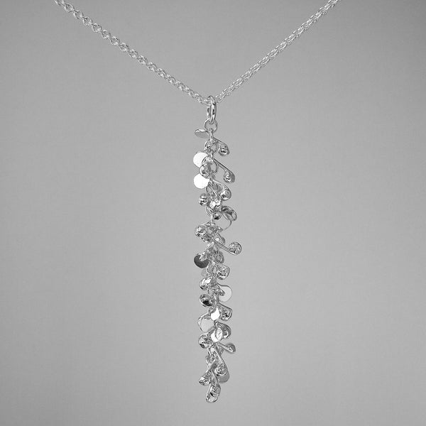 Harmony Pendant, polished silver by Fiona DeMarco