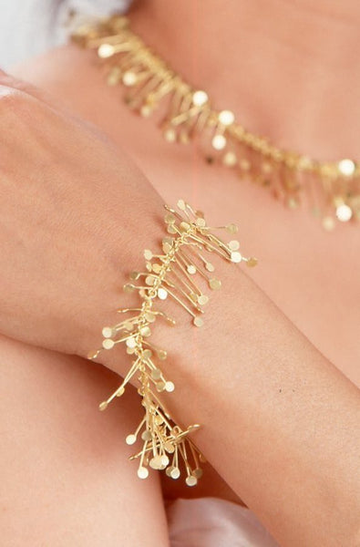 Signature Bracelet, 18ct yellow gold by Fiona DeMarco