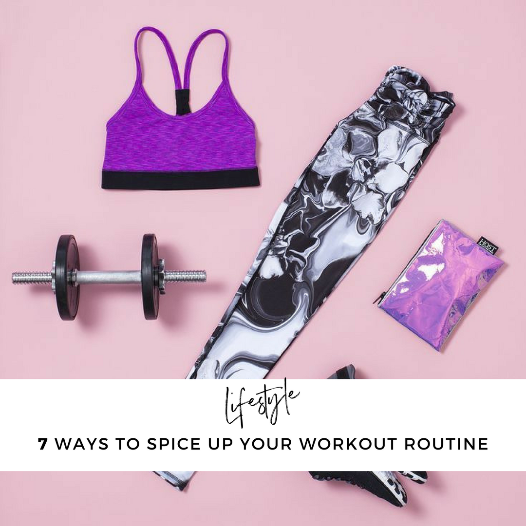 7 Ways To Spice Up Your Workout Routine