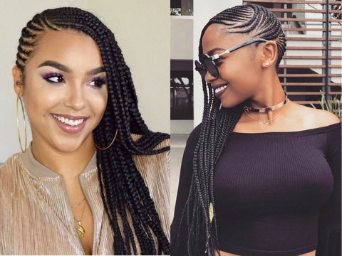 5 braid trends we love for How to weave a net with string
