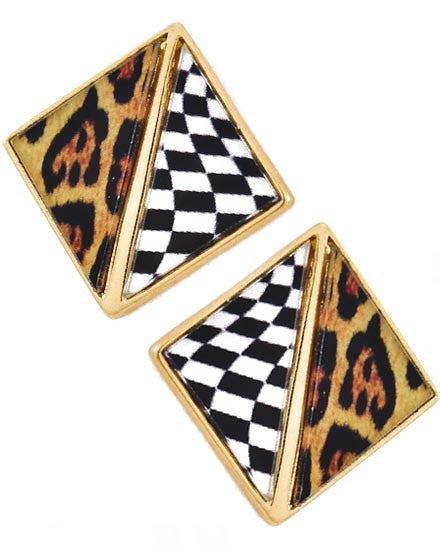 Queen Of The Jungle Earrings