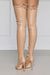 Highrise Thigh High Boot (Camel)- FINAL SALE
