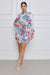 Break Free Tropical Chic Shirt Dress