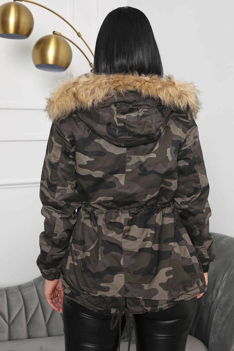 In Command Camo Jacket (Olive)