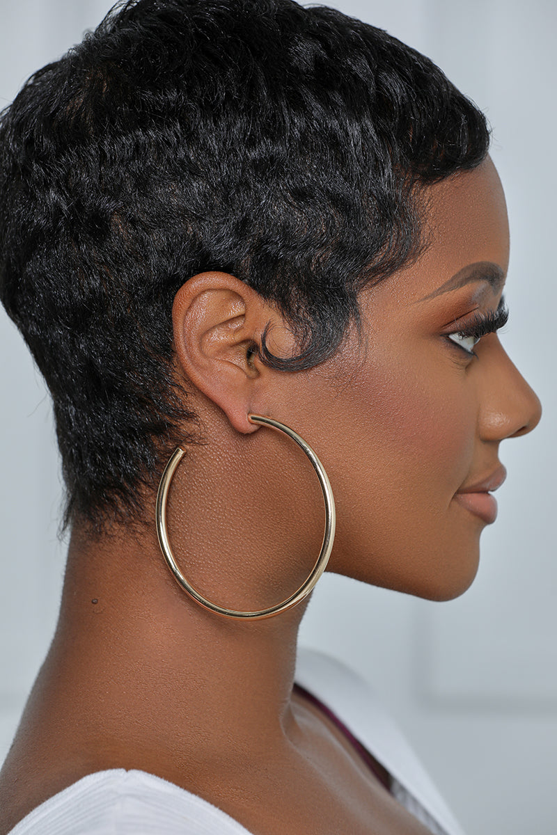 The Perfect Gold Hoop Earrings (3 Inch)
