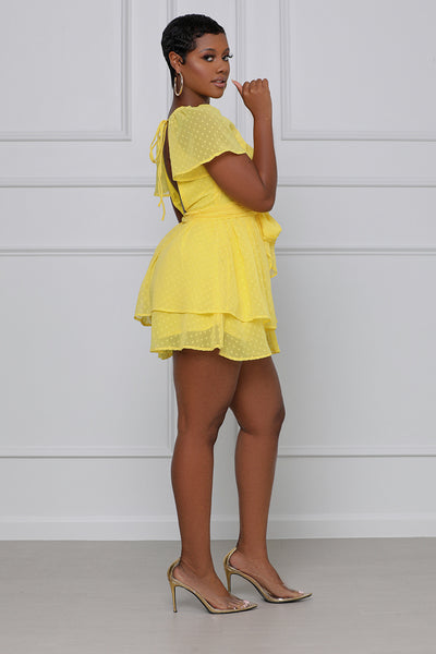 Give Me The Sun Romper (Yellow)