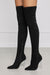Lolly (Black) Thigh High Boot