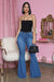 High Waist Flare Jean (Medium Wash)- FINAL SALE