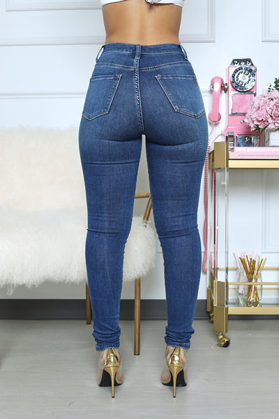 High Waist Night Out Jeans