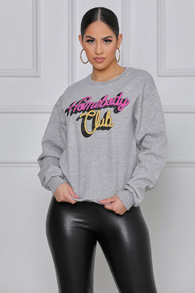 Homebody Club Sweatshirt