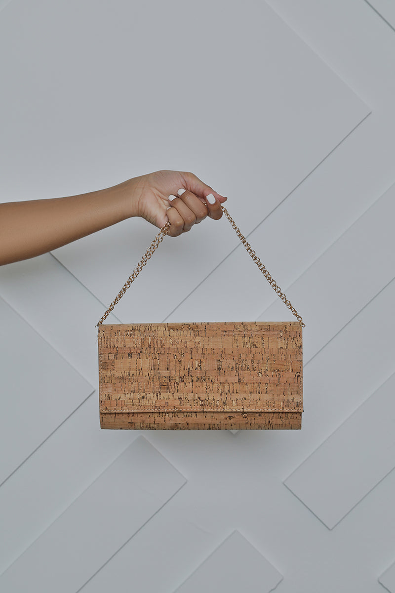 Cork Clutch- FINAL SALE