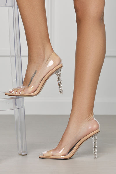 Holy Transparent Pedestal Pump