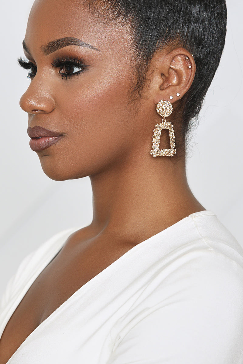 Statement Earring (Gold)