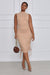 Keep Me Close Bodycon Midi Dress (Nude)