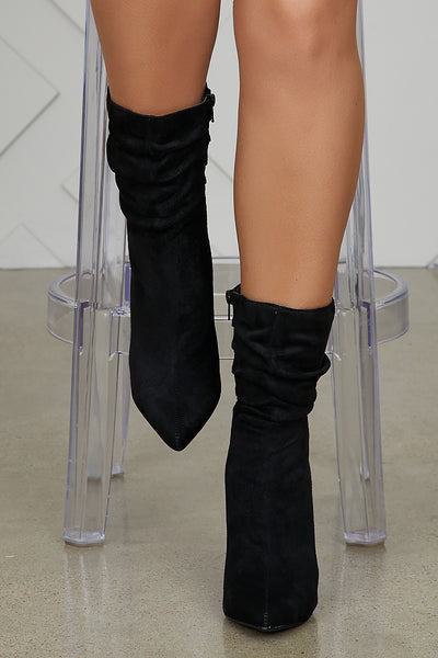 Liana Booties (Black)- FINAL SALE