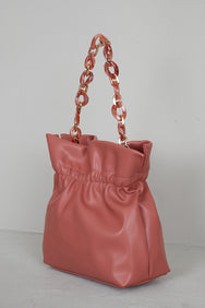 Blush Bucket Bag- FINAL SALE