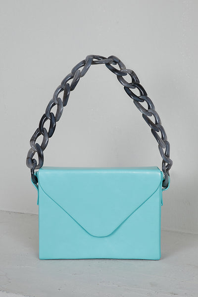 Envelope Box Bag (Tiffany Blue)