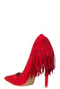 Lola Fringe Pump- FINAL SALE