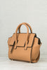 Nadine Structured Satchel (Camel)