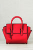 Nadine Structured Satchel (Red)