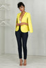 Love You More Cape Blazer (Yellow)