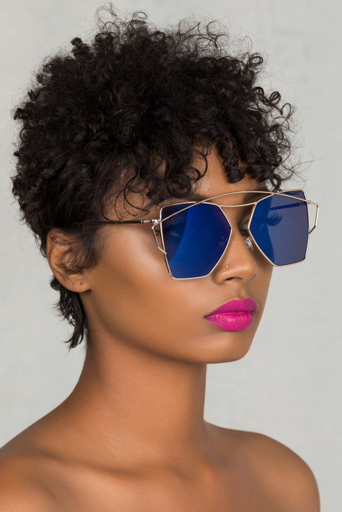 Level Up Sunglasses (Blue)