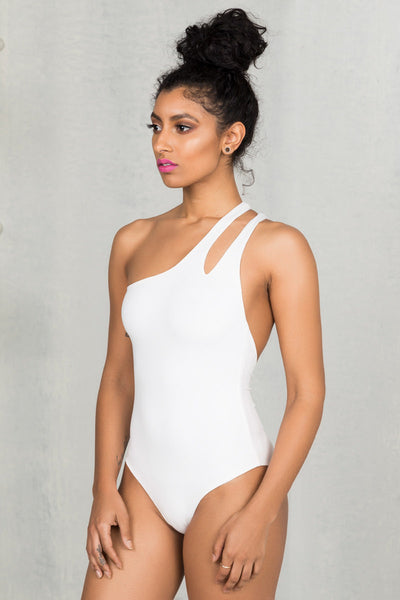 One Shoulder Bodysuit- FINAL SALE