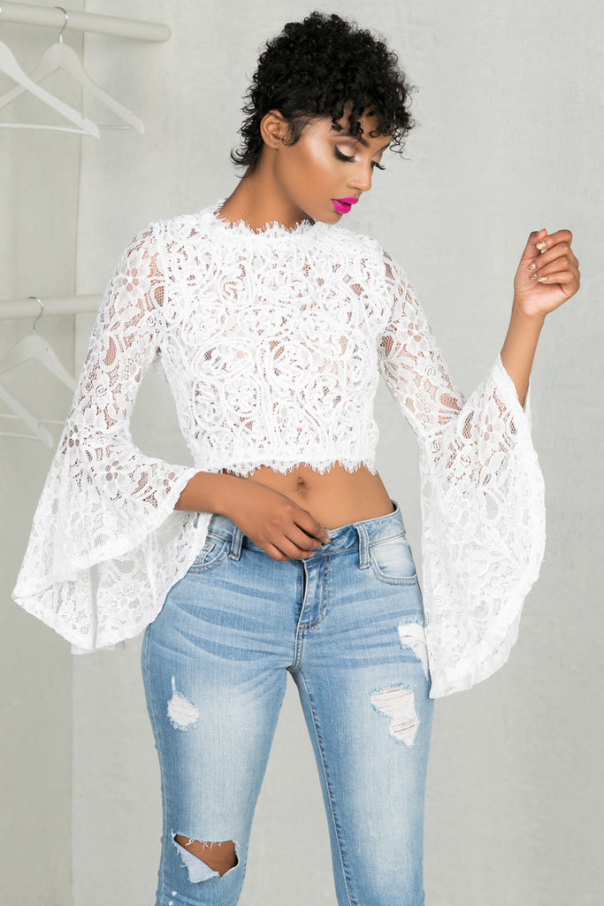 Ring My Bell Top (White)