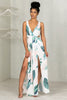 Double Split Palm Dress- FINAL SALE