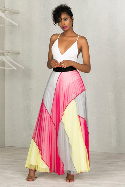 Candyland Maxi Skirt- FINAL SALE