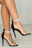 Iris Jewel Heel (Black)
