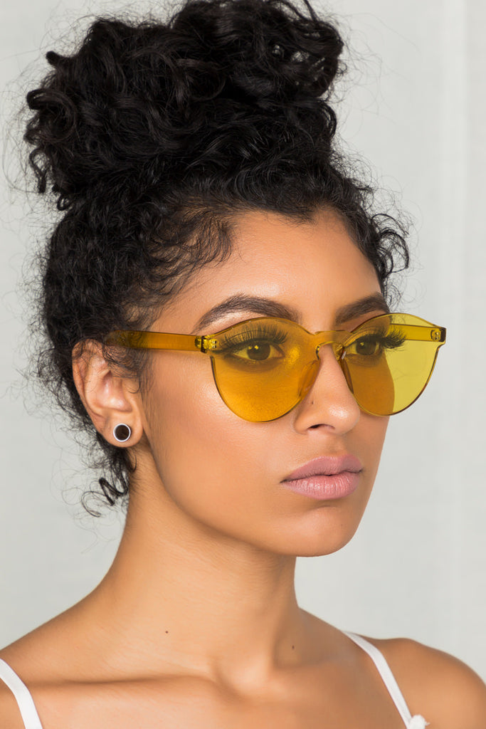 Clearly Sunglasses (Yellow)