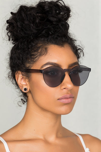 Clearly Sunglasses (Black)