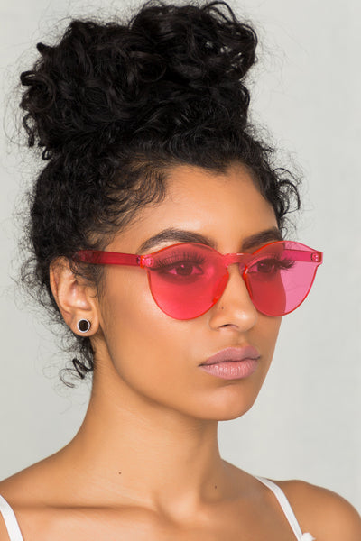 Clearly Sunglasses (Pink)