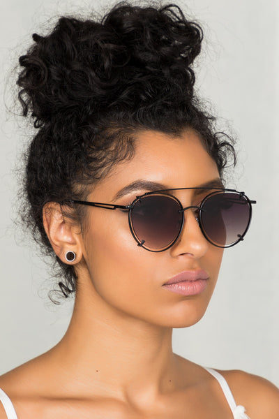 Too Cool Sunglasses (Black)