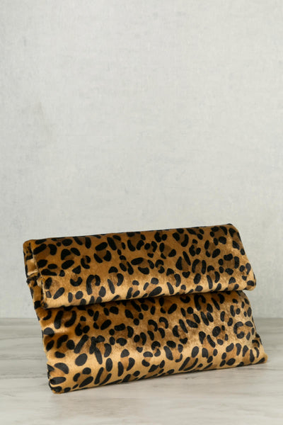Roll Over Clutch (Leopard)