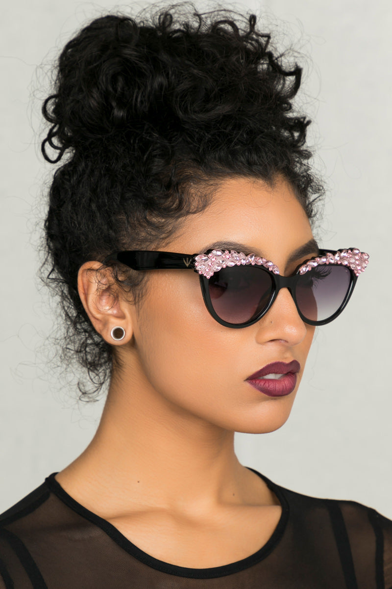 Perverse Eros 1942 Sunglasses (Pink)- FINAL SALE