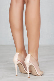 Lilly Transparent Pump Shoes-Exclusive- FINAL SALE
